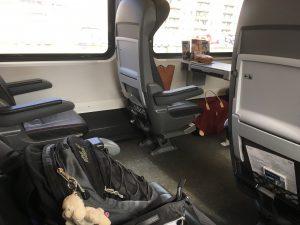 Zugfahrt nach Graz