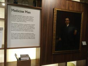 Bild und Beschreibung Sir Henry Wellcome