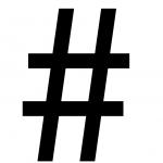 Bild eines Hashtags